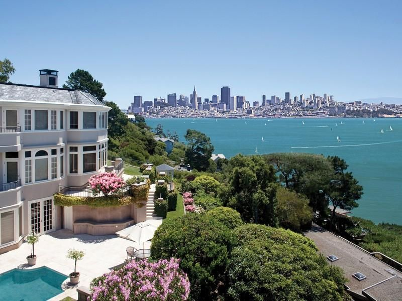 Amazing View Of Sf From Tiburon Ca Luxury Real Estate Expensive Houses Belvedere Tiburon