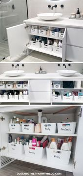 Photo of Come organizzare il tuo mobiletto del bagno – dormitorio, # mobiletto del bagno #DreamHouseRoom …