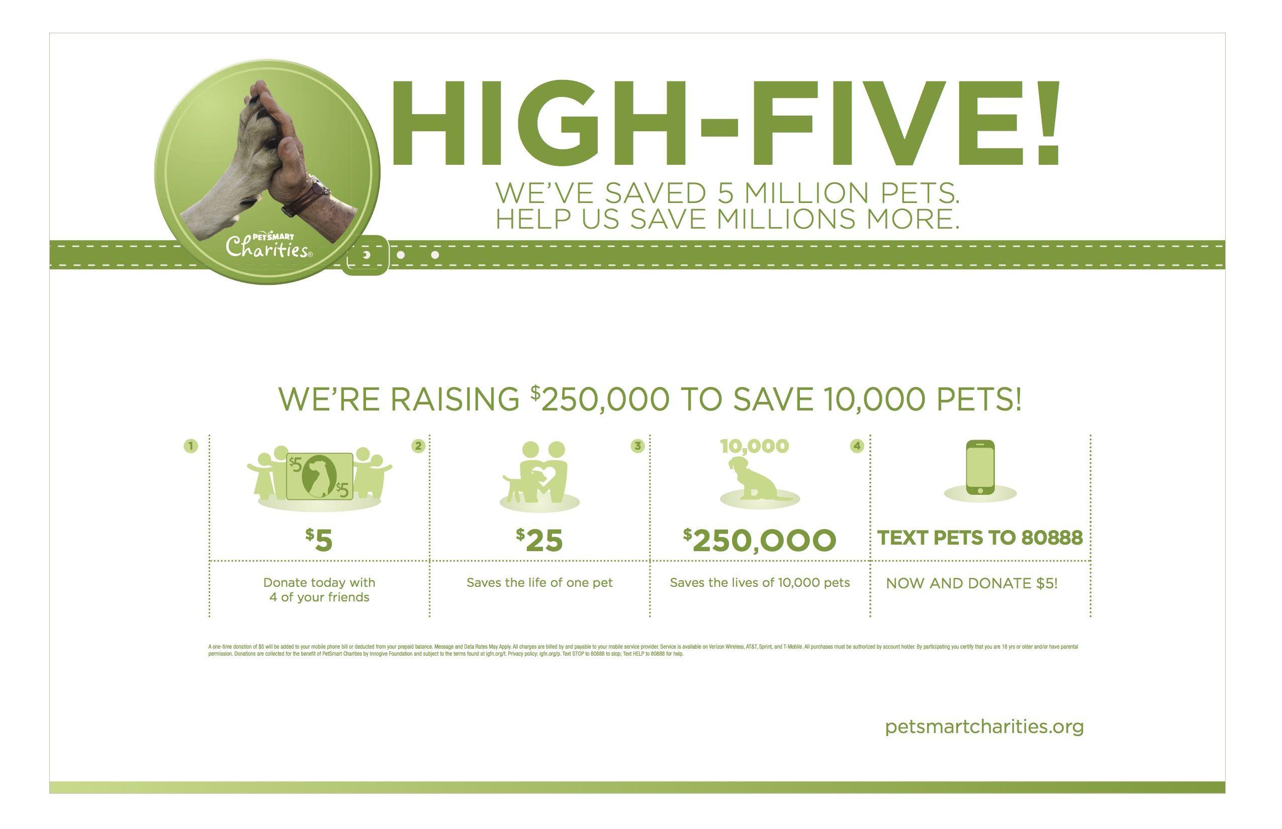 250k Saves 10k Pets Repin And Click To Donate Charity Pets Petsmart