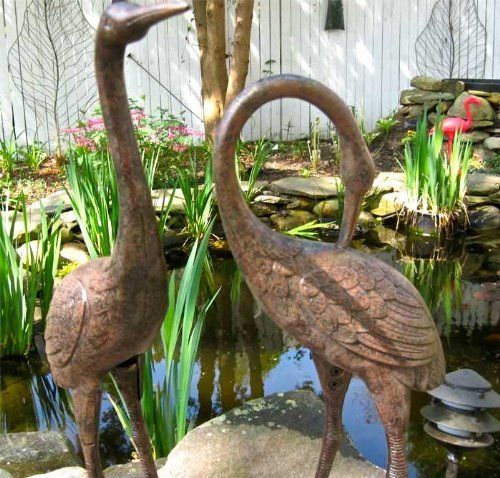 Heron Statue By Innova Hearth And Home. $129.95. GARDEN