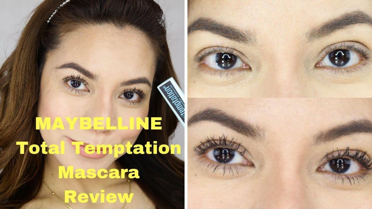 caab7afbd6a Maybelline Total Temptation Mascara First Impression | ELLAsDaily ...