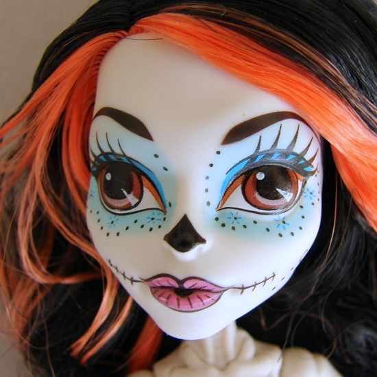 Skelita Calaveras Monster High doll - my favorite so far. Monster High Halloween Costume ... & Skelita Calaveras Monster High doll - my favorite so far | Kylie ...