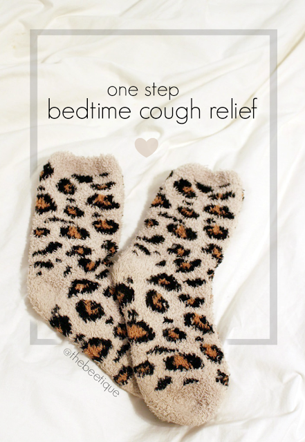 Shhhhh bedtime cough relief remedy in one simple step one one simple household item vicks vapor rub on the feet will help prevent soar throat coughing overnight that wont let you fall asleep ccuart Image collections