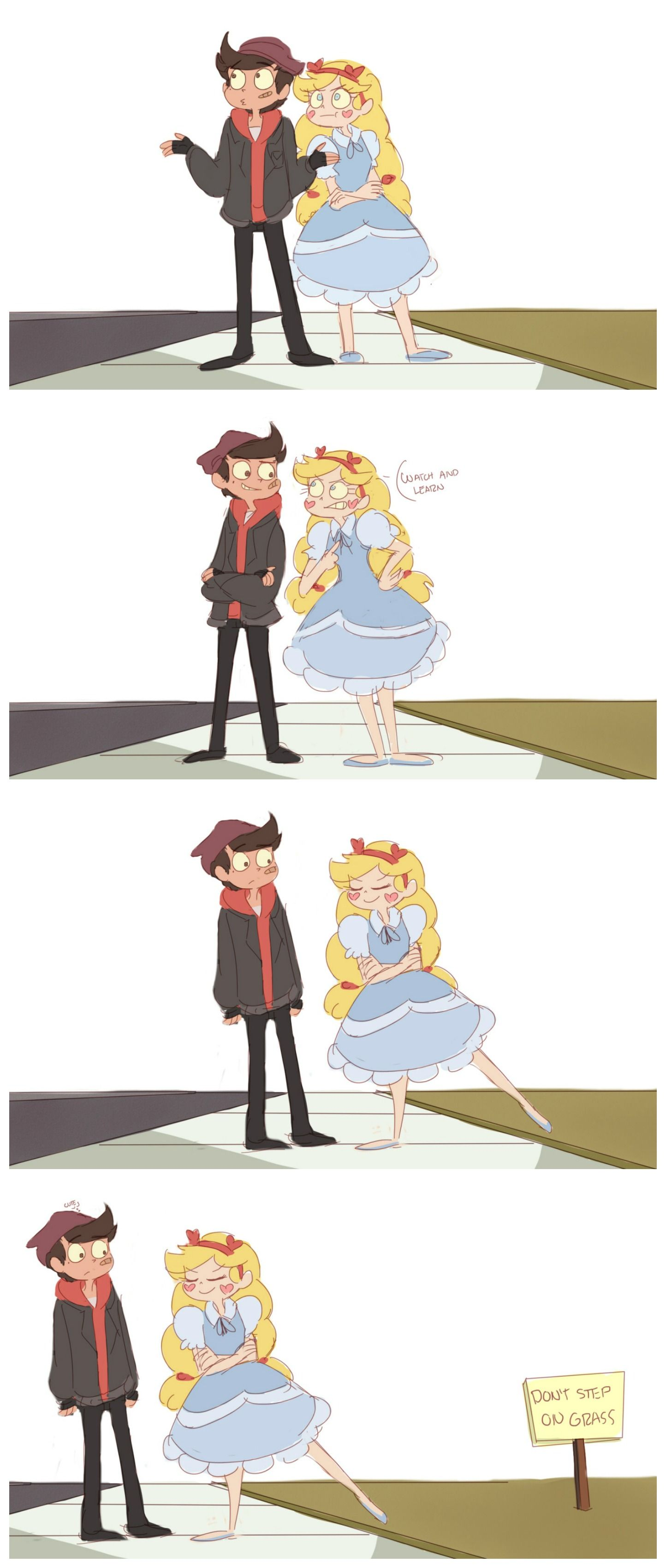 Star vs  the forces of evil AU The princess & the bad boy | STARCO