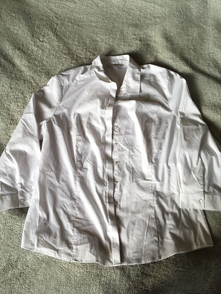 4f30a17ec3a George Ladies White Cotton Smart Shirt Size 12 3 4 Sleeves  fashion   clothing  shoes  accessories  womensclothing  tops (ebay link)