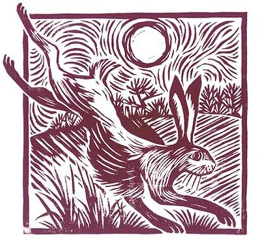 'Leaping Hare' Celia Hart