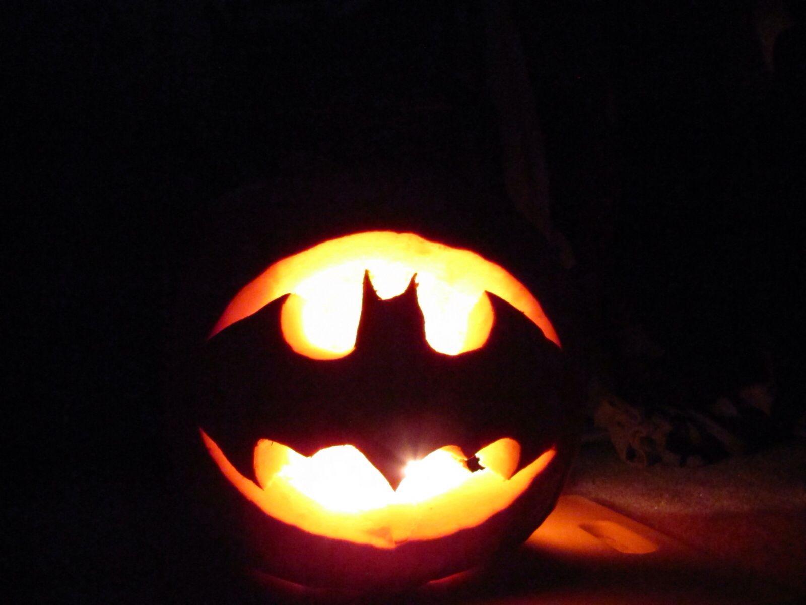 batman halloween pumpkin template