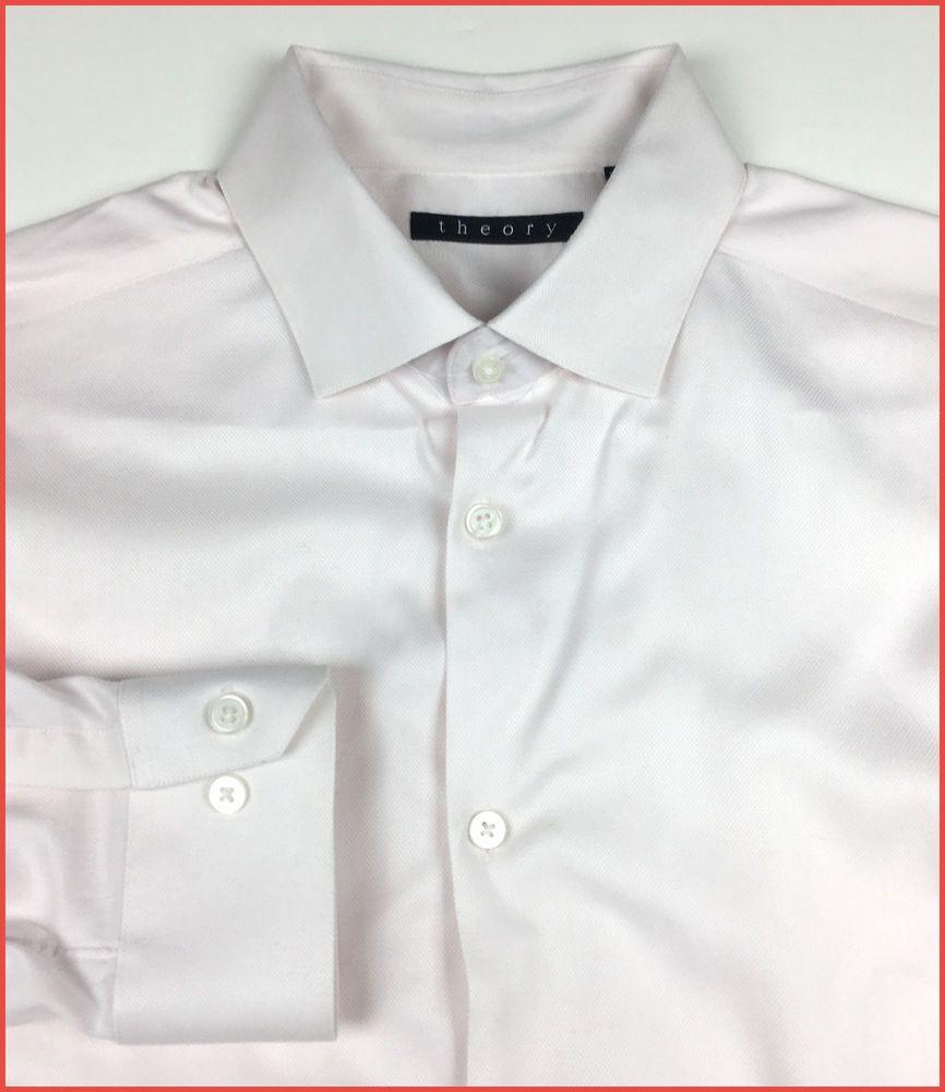 Detalles acerca de Teoría Para hombres Mangas Largas Camisa de ...