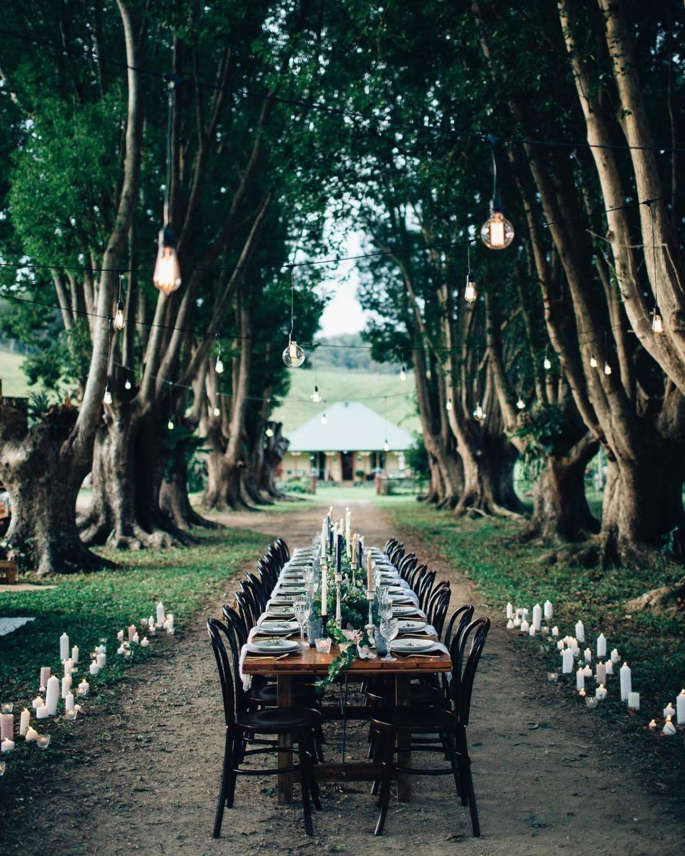 Outdoor Wedding Ceremony Brisbane: The LANE List: Brisbane Wedding Stylists / Coco & Confetti