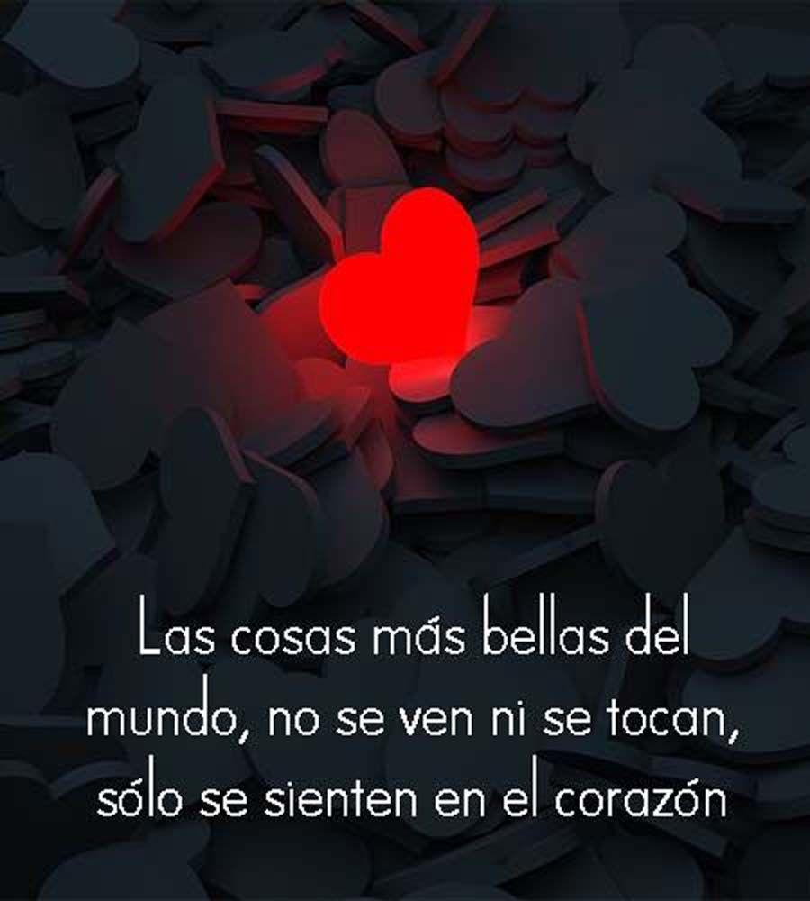 Te Siento En El Corazón 3 Frases Bonitas De Amor Frases Bonitas Postales De Amor