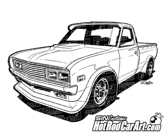 1978 datsun pickup truck