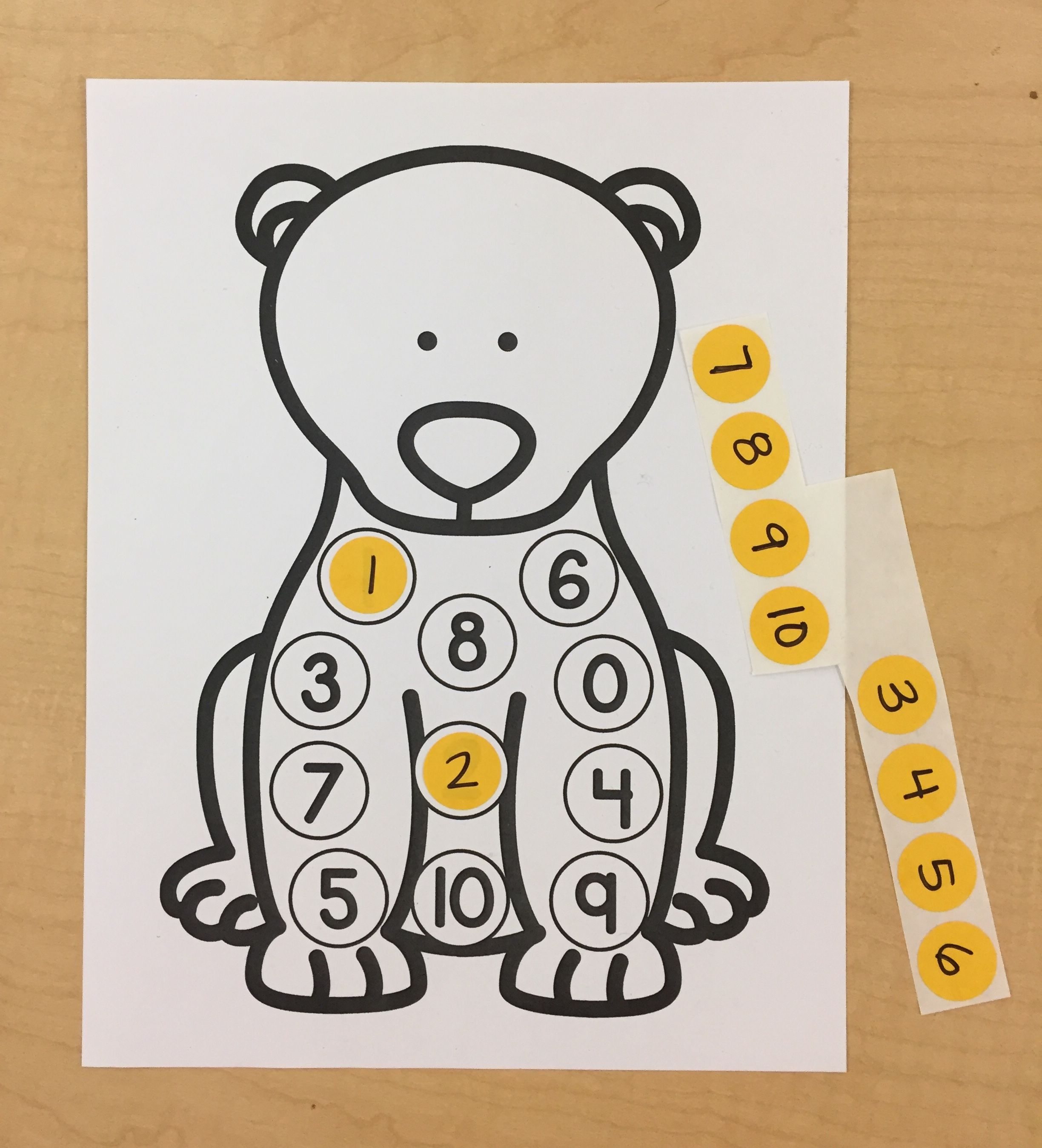 Arctic Animals Literacy And Math Centers For Preschool