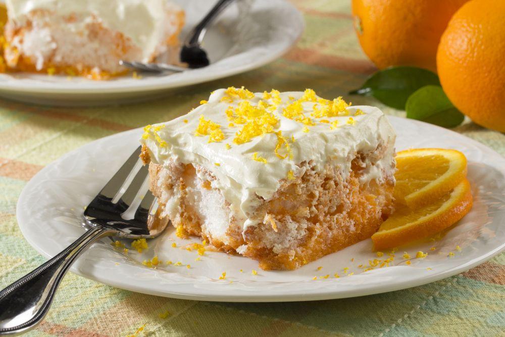Keto Diet Carrot Cake Recipe: Orange Dream Angel Cake