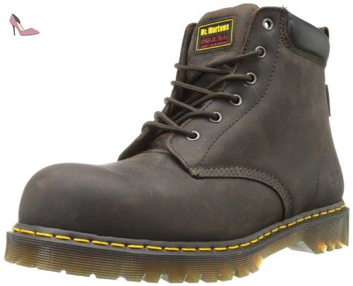 Dr. Martens , Chaussures de sécurité pour homme - Marron - Marron, 39 EU