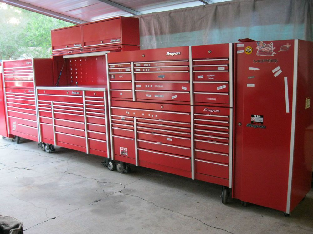Snap On Snapon Snap On Krl 6 Section 26 Wide Tool Box Set