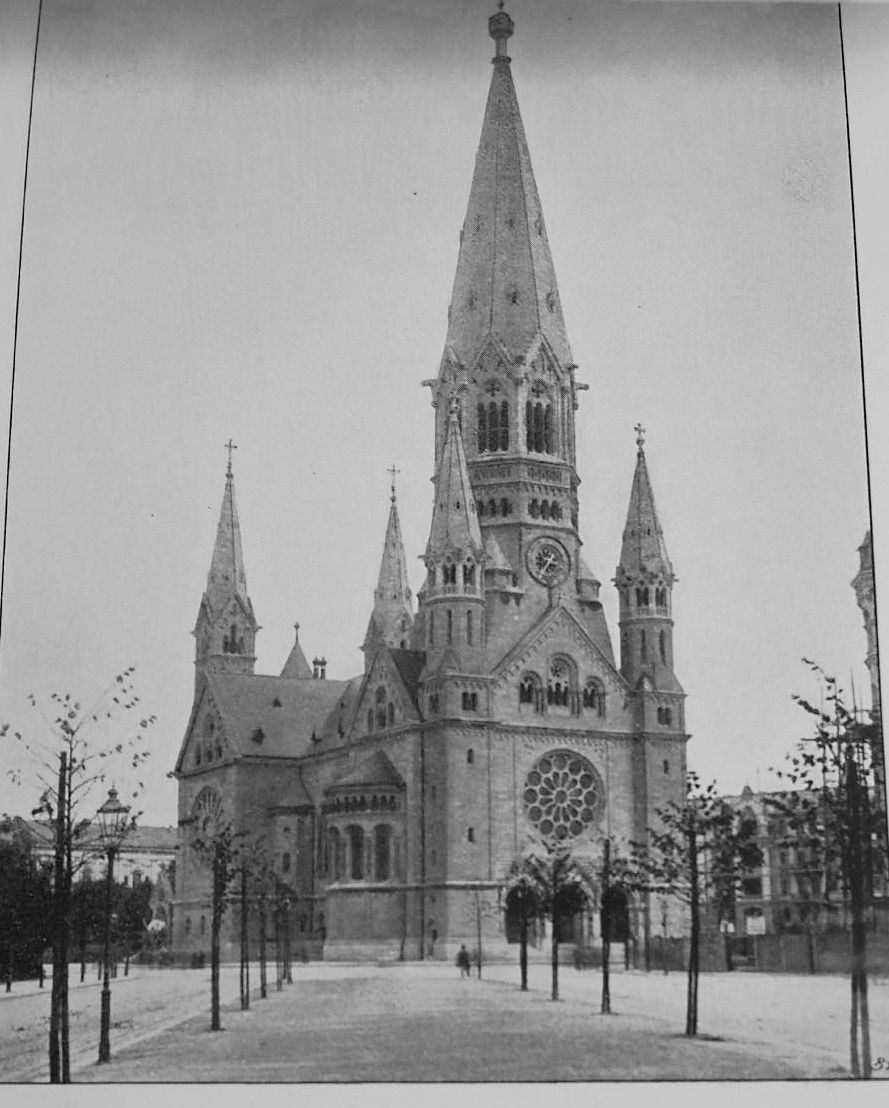 Image result for kaiser wilhelm memorial church