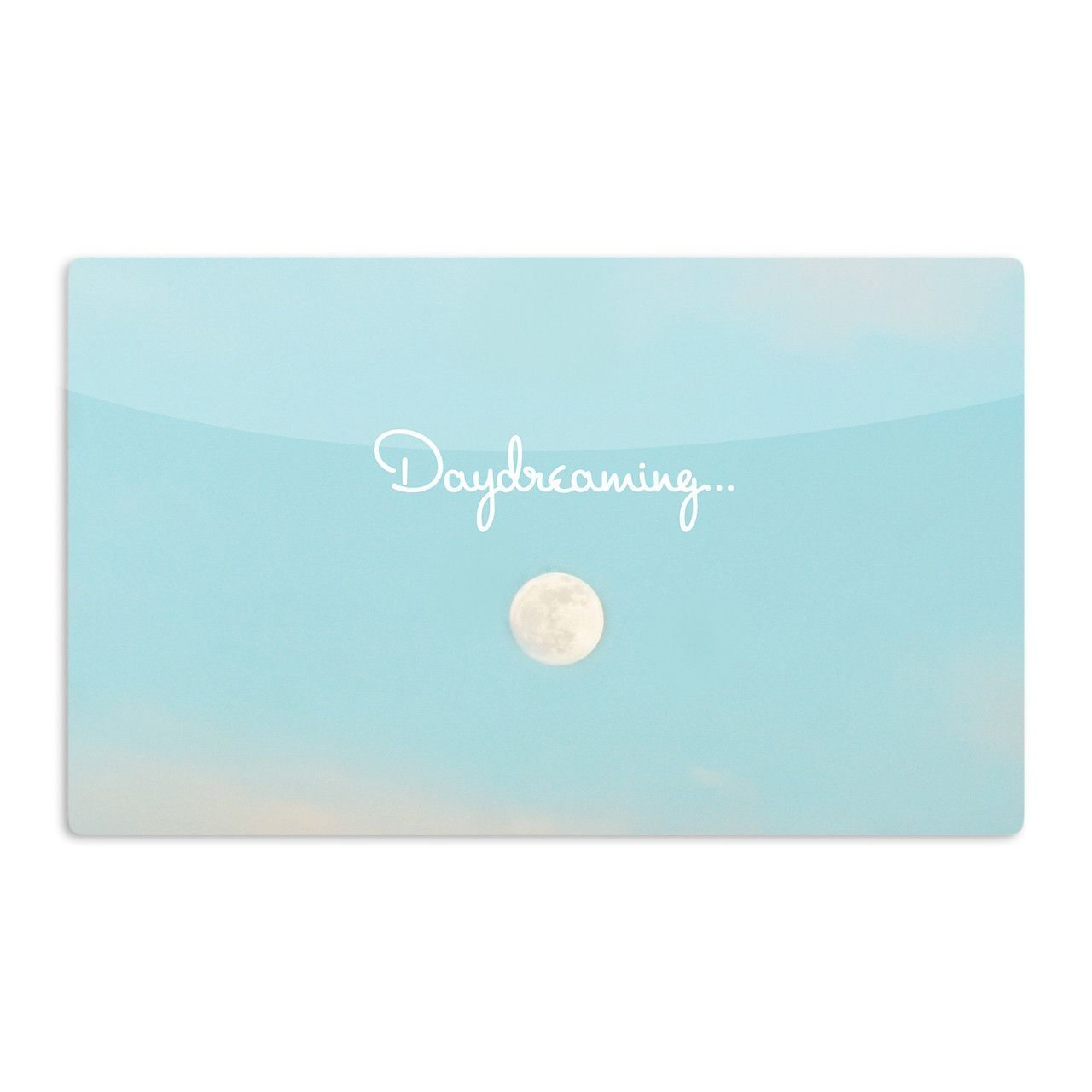 """Beth Engel """"Day Dreaming"""" Sky Clouds Aluminum Magnet"""