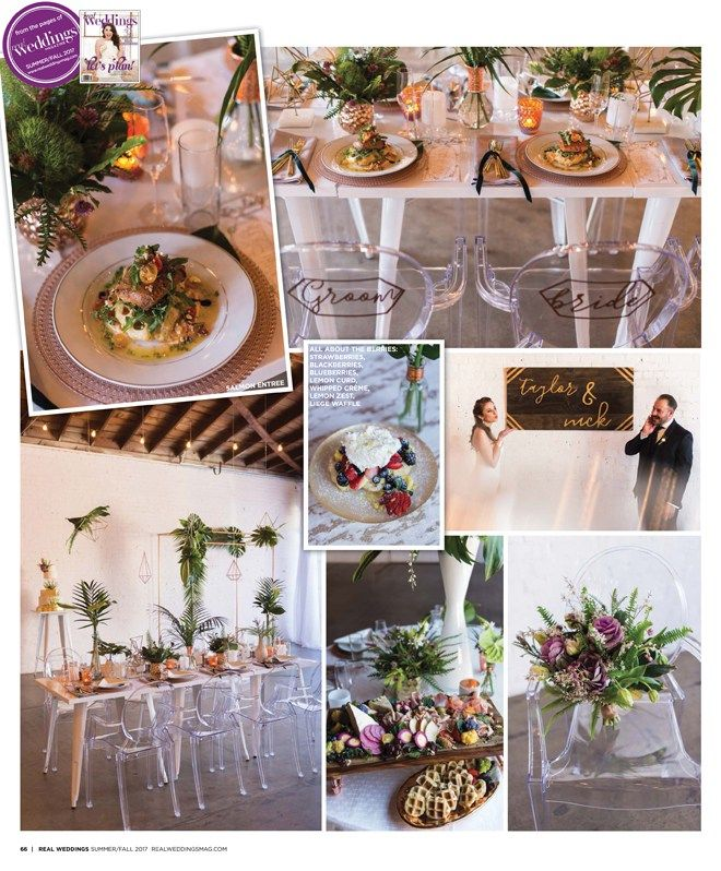 Sacramento Wedding Inspiration: Urban Oasis {The Layout