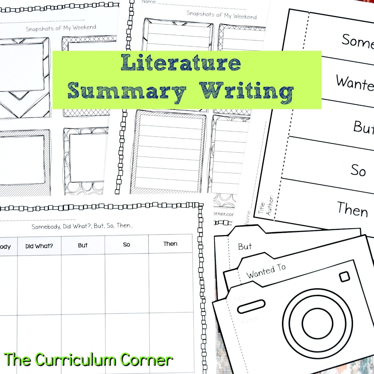 How To Write A Summary Resources