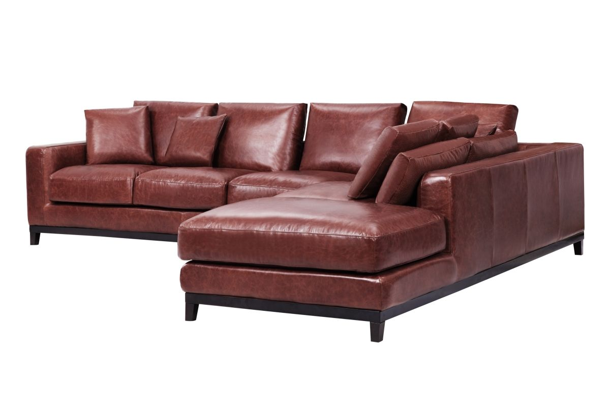 Kellan Sectional Sofa With Right Chaise Distressed