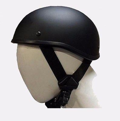 Flat Black Novelty Beanie Low Profile  Helmet Great Deal S,M,L,XL,XXL