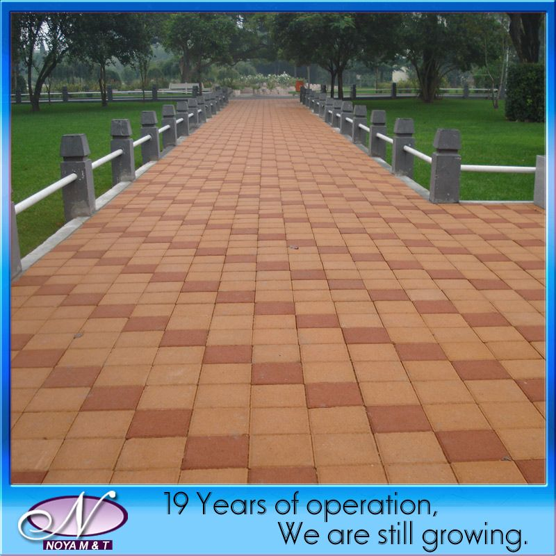 China Cheap Water Permeable Brick Paving Stone for Garden ...