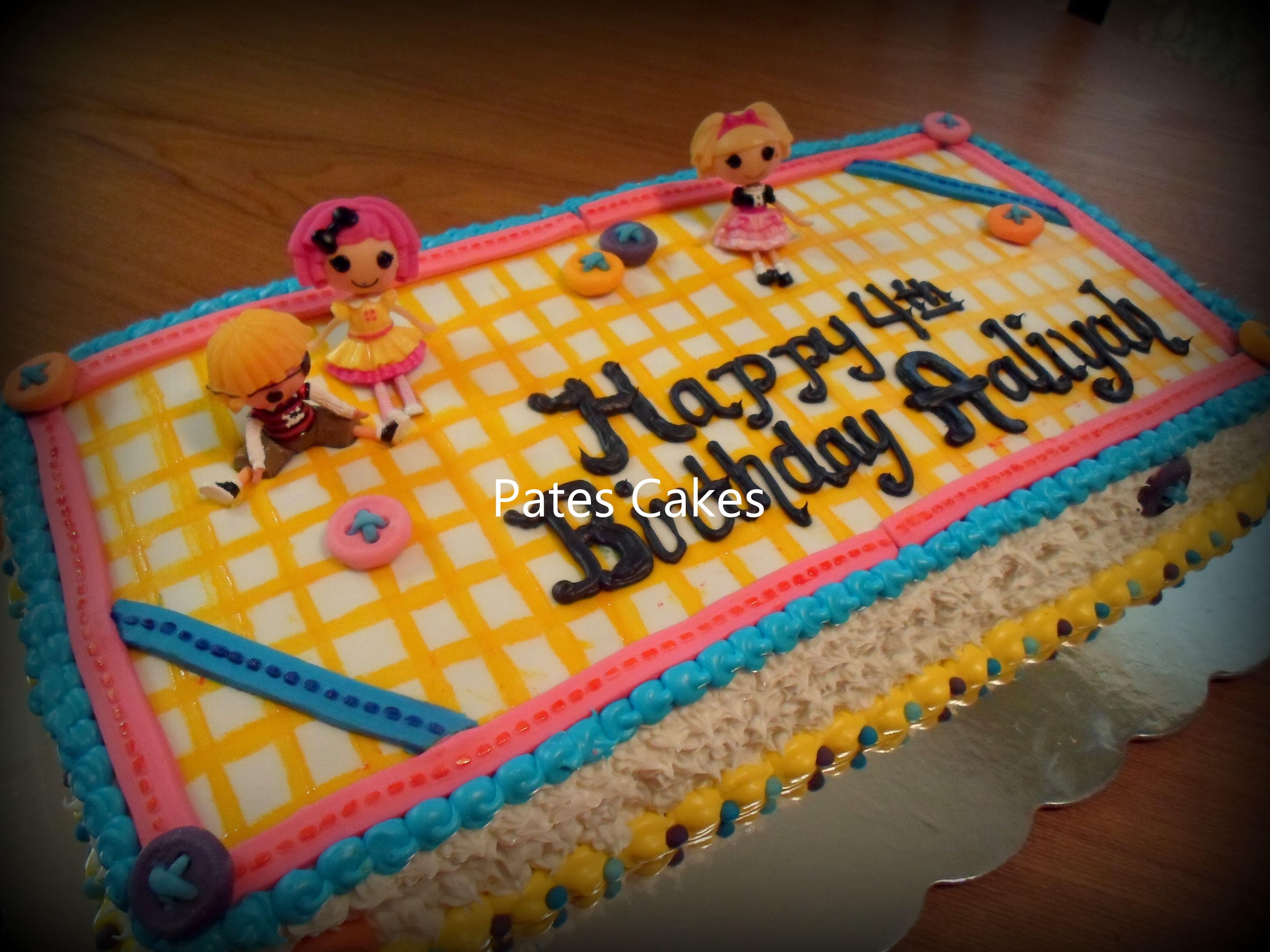Lalaloopsa cake