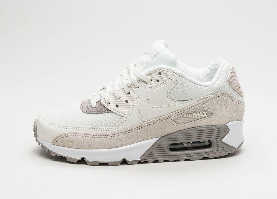 Nike Wmns Air Max 90 (Light Orewood Brown / Sail – Cobblestone – White #