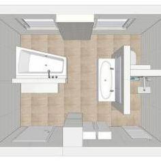 Badezimmer Ideen, Design und Bilder | Moderne badezimmer, Grundrisse ...
