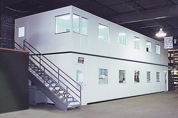 In-Plant 2-story Modular Wall System
