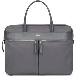 Photo of Knomo Mayfair Hanover Aktentasche 14″ grau KnomoKnomo