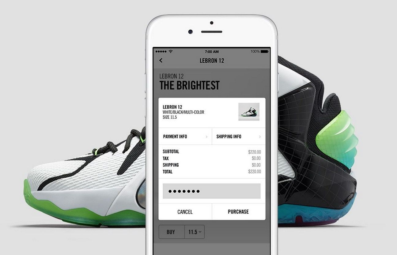 Nike-SNKRS-app-05 | Mayfair & Fifth Love Lazy Gadgets | Nike snkrs