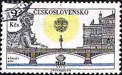 Jirí Švengsbír (9/06/1921 Praga - 3/03/1983 Praga) foi um gravador Checo, ilustrador e designer gráfico - Album Praga - Selo