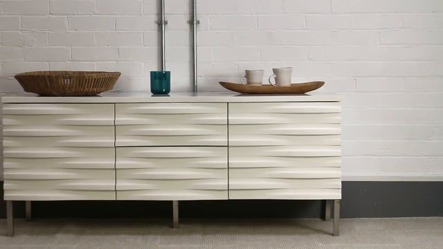 Conran Wave Sideboard White Contemporary Sideboards From 4