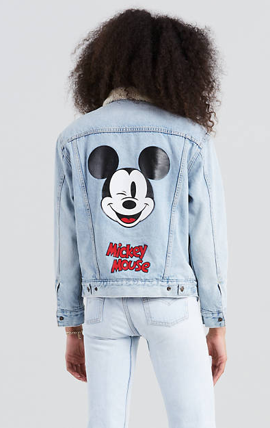 de9aaa44658 Levi s® X Mickey Mouse Ex-Bf Sherpa Trucker Jackets - 140€  theradicalblog   falloutfits  levis