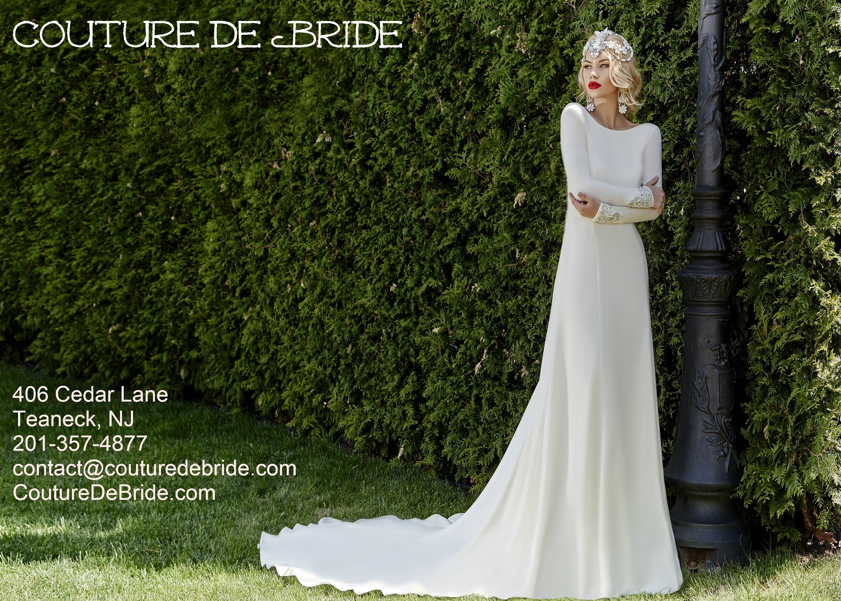 Elite wedding dresses  Modest Wedding Dress Kallah Gown from CoutureDeBride lds wedding