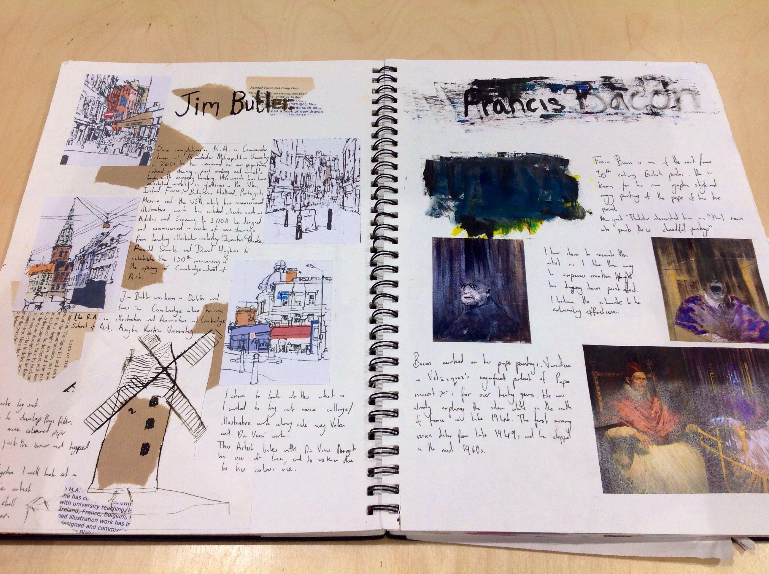 Year 12 Sketchbook Sketchbook Layout Sketch Book Art Sketchbook