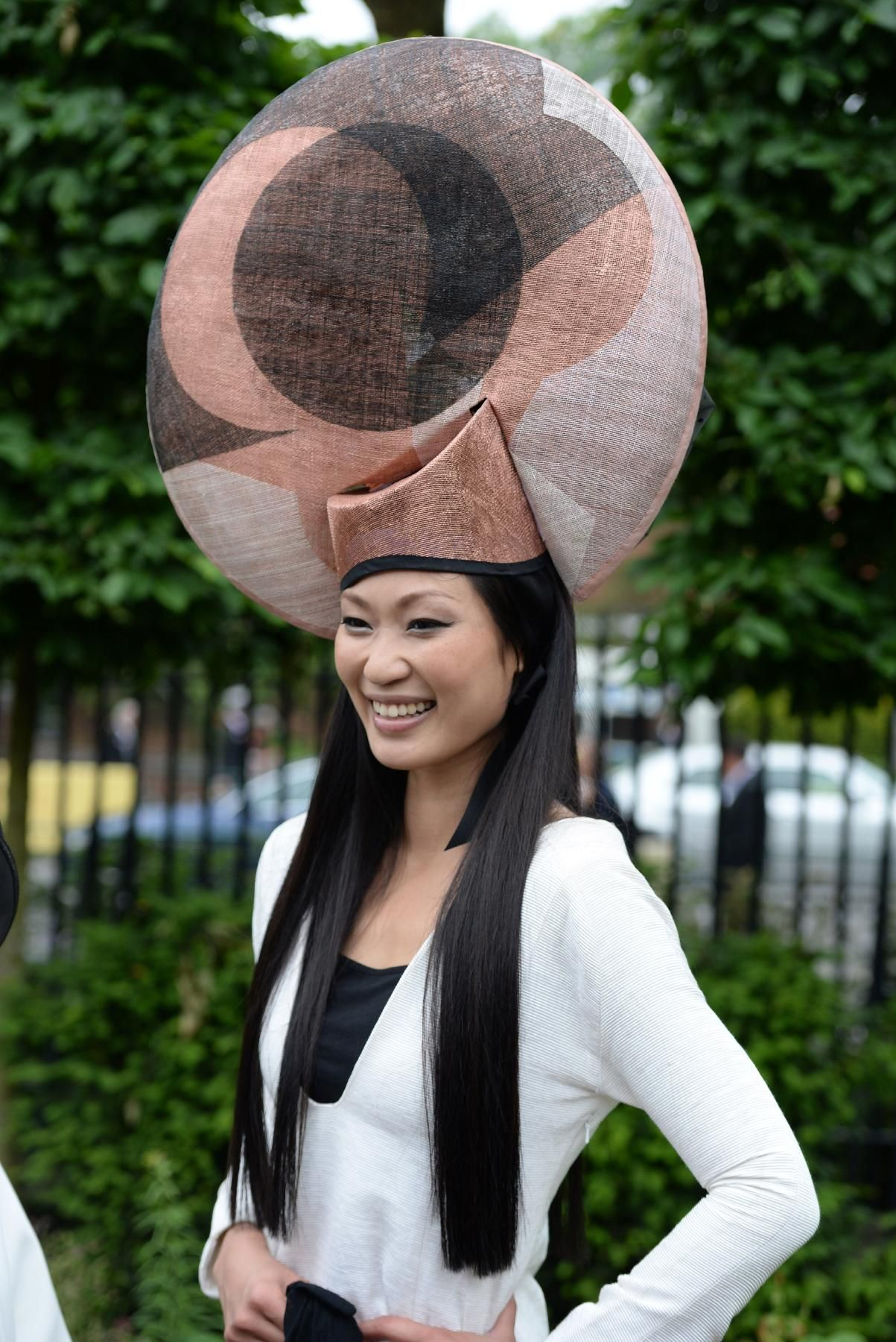 The Craziest Hats   Fascinators From Royal Ascot - The Cut  3b335cd72bff