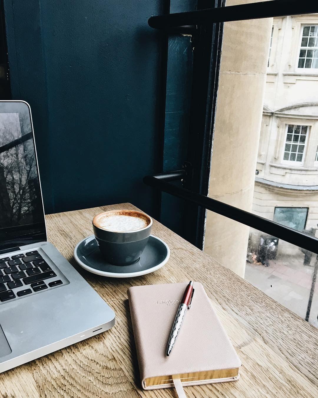 ноутбук кофе фото под