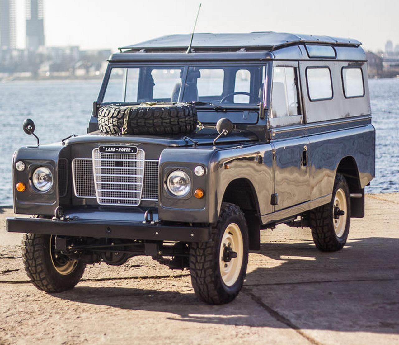 Land Rover Defender Safari Land rover series 3, Land