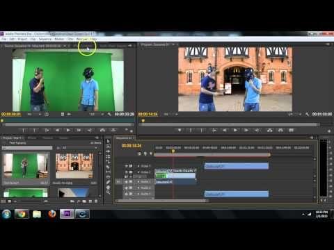 Adobe Premiere How To Remove Green Screen Chroma Key Remove Background Tutorial Chroma Key Greenscreen Green Screen Backgrounds