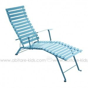 Bistro By Fermob Chaise Longue Turquoise Fermob Outdoor Furniture Outdoor Decor