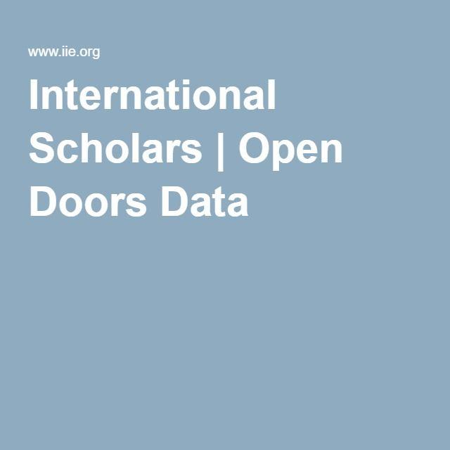 International Scholars Open Doors Data Scholar Open International