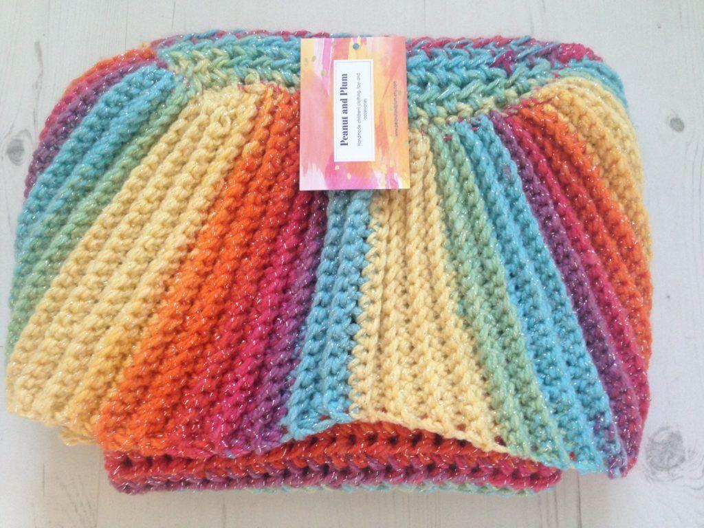 Majestic Mermaid Tail Blanket (Free pattern) -