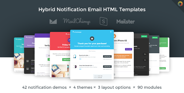 Simpleapp Hybrid Notification Email Html Templates By