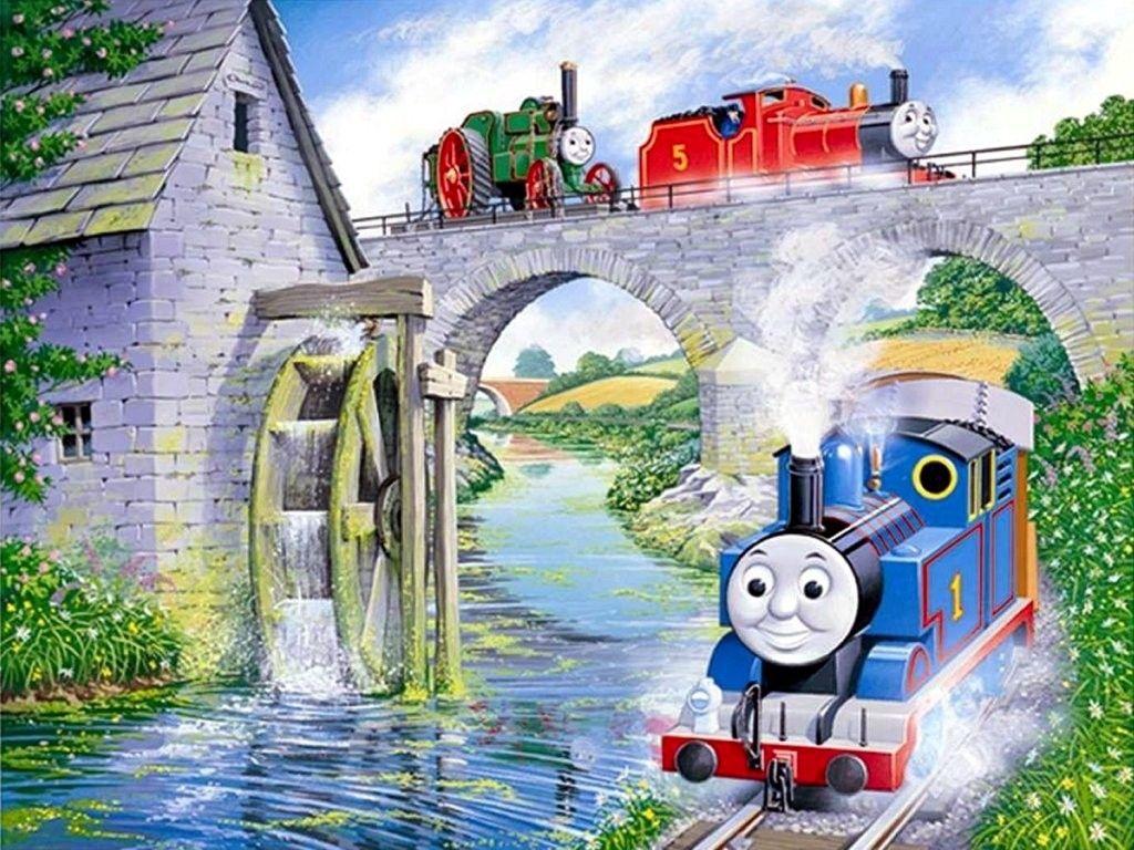 Thomas The Train Background Thomas The Train Background Mandala