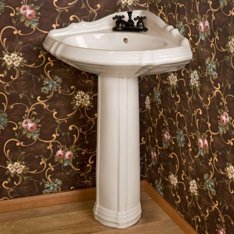 Corner Bathroom Sink Ideas Beautiful Best 25 Corner Pedestal Sink Ideas On Pinterest Corner Pedestal Sink Pedestal Sink Pedestal Sink Bathroom