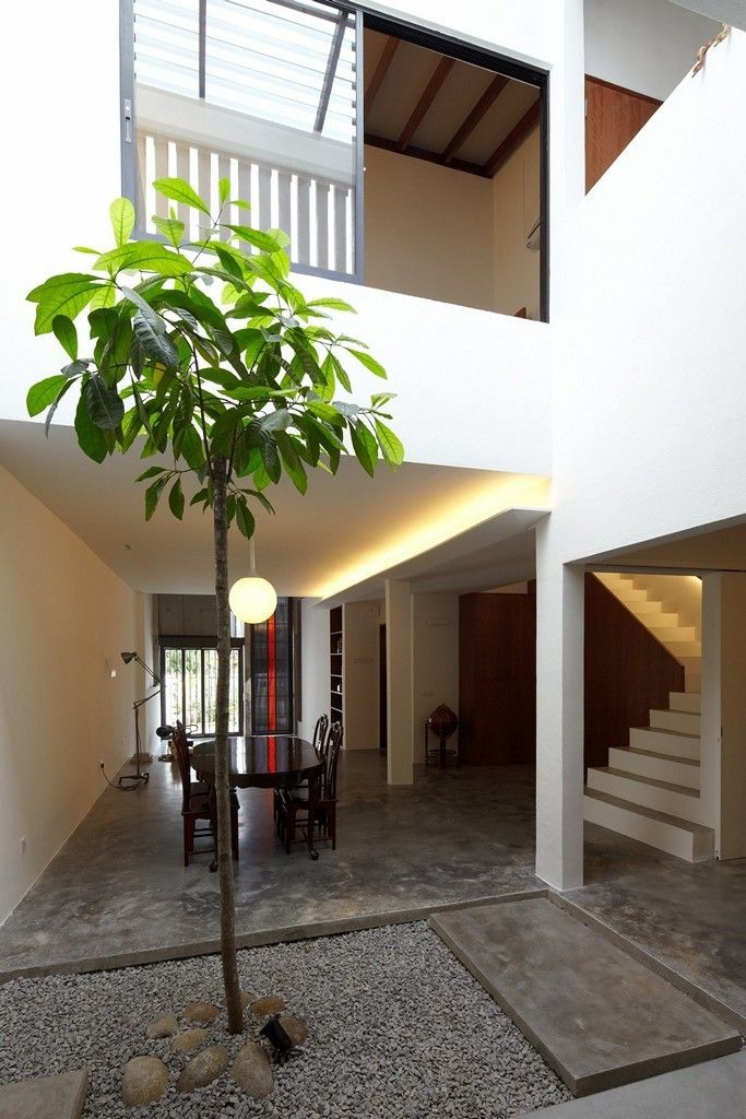 Pin von Azhar Ibrahim auf House with small courtyard | Pinterest