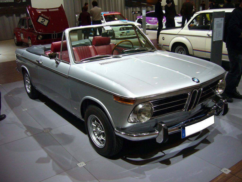 Bmw 2002 baur cabriolet typ 114c 1968 1971