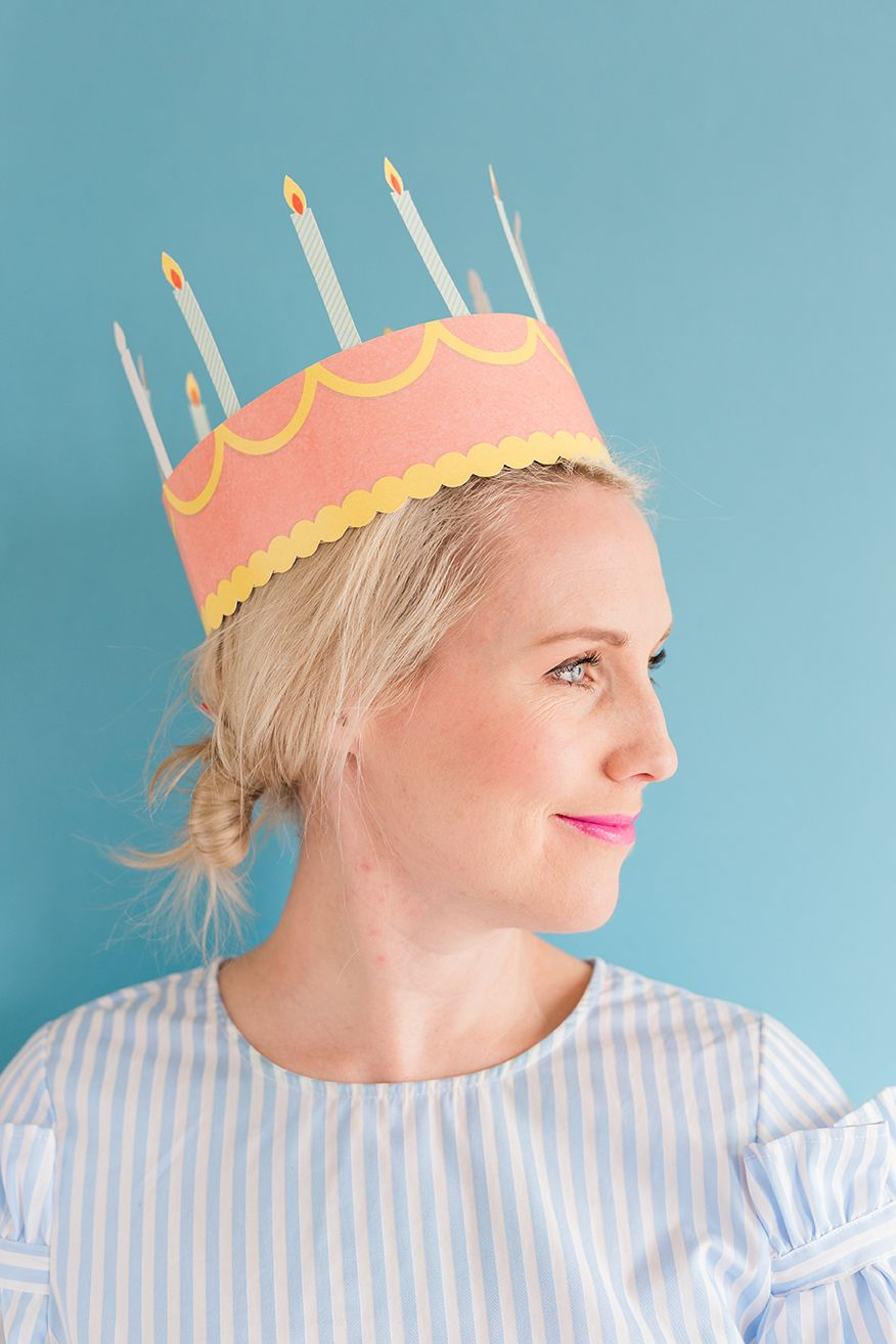 photo about Printable Birthday Crown referred to as Do it yourself printable birthday crown Birthday Do it yourself birthday